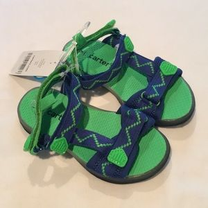 Carter's NWT Velcro strap sandals